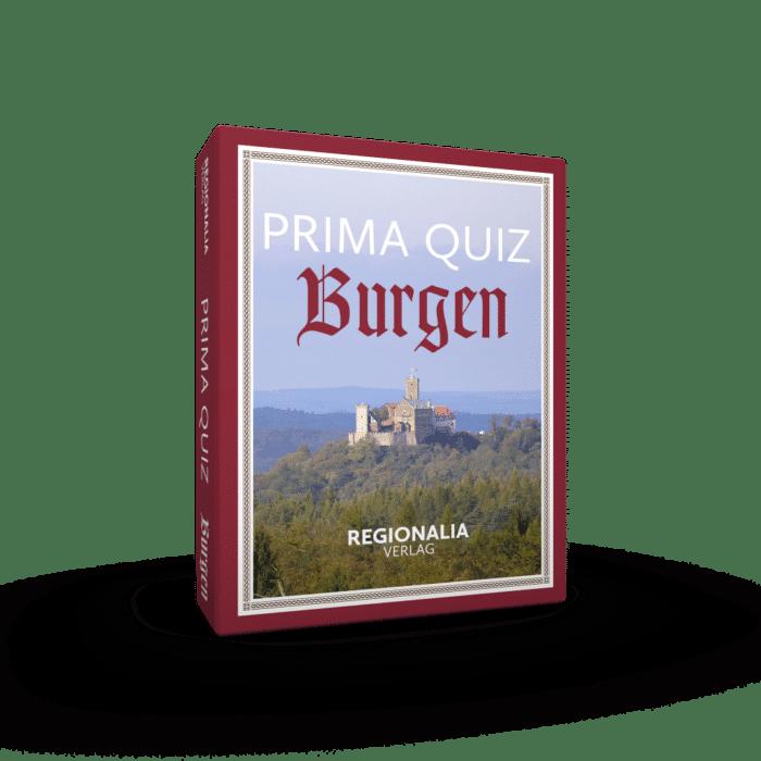 Prima Quiz Burgen – 100 Fragen und Antworten
