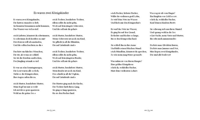 Gedichte mit Geschichte – Was wirklich geschah – was Dichter daraus machten